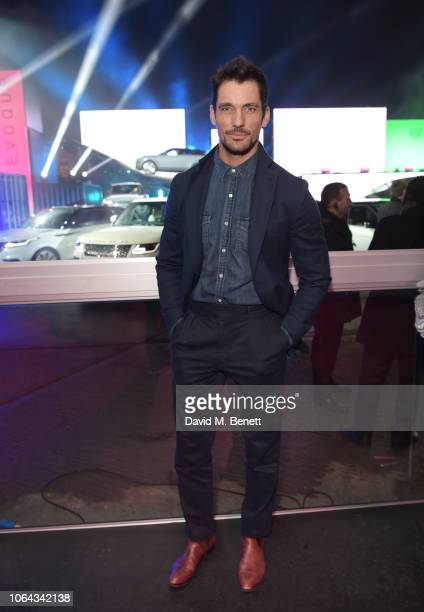 David Gandy attends the World Premiere of the new Range Rover Evoque at The Old Truman Brewery on November 22 2018 in London England