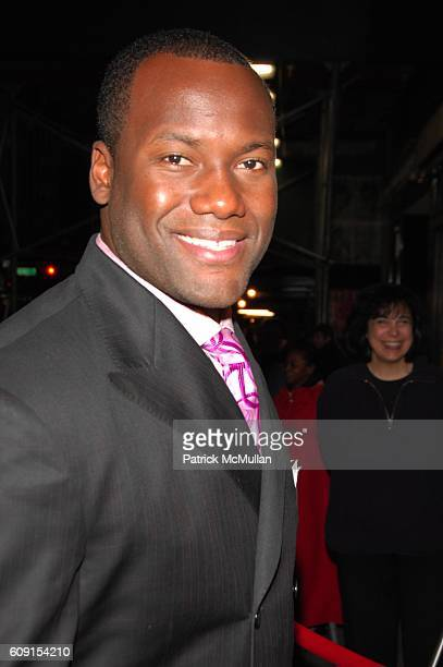 David Garrard attends Innerstate red carpet arrivals at Directors Guild of America on February 21 2007 in New York City