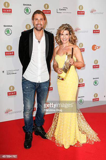 David Garrett and AnneSophie Mutter attend the ECHO Klassik 2014 on October 26 2014 in Munich Germany
