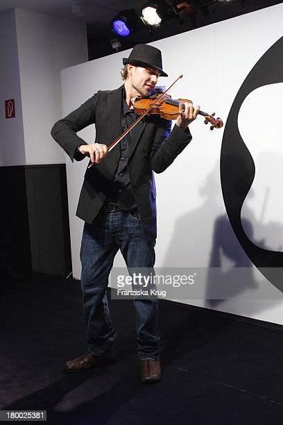 """David Garrett Bei Der Premiere Des """"Montblanc Star Nicolas Rieussec Monopusher Chronograph"""" Im Kadewe In Berlin ."""