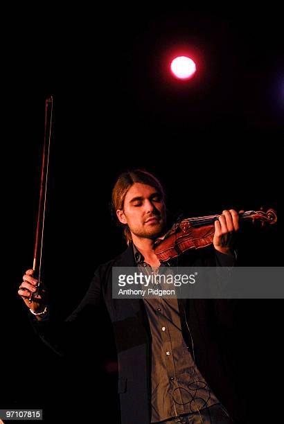 David Garrett performs on stage at Aladdin Theater on February 24 2010 in Portland Oregon