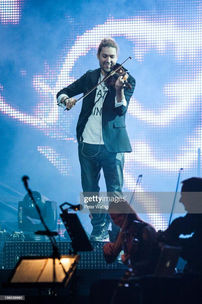 David Garrett Cologne Concert : Nachrichtenfoto