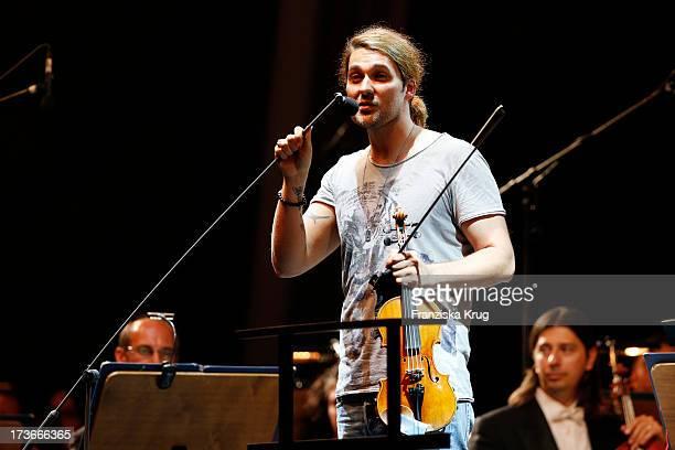 David Garrett plays the Thurn Taxis Castle Festival 2013 ClassicNight With David Garrett on July 16 2013 in Regensburg Germany