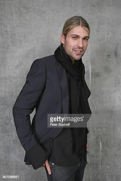David Garrett, Porträt, Köln, Nordrhein-Westfalen, Deutschland, Europa, Portrait, lächeln, Musiker, Geiger, JS, Promi FTP; P.-Nr. 2021/2008, ; Foto:...