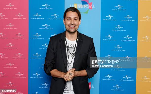 David Garrett poses for a photo during Universal Inside 2017 organized by Universal Music Group at MercedesBenz Arena on September 6 2017 in Berlin...