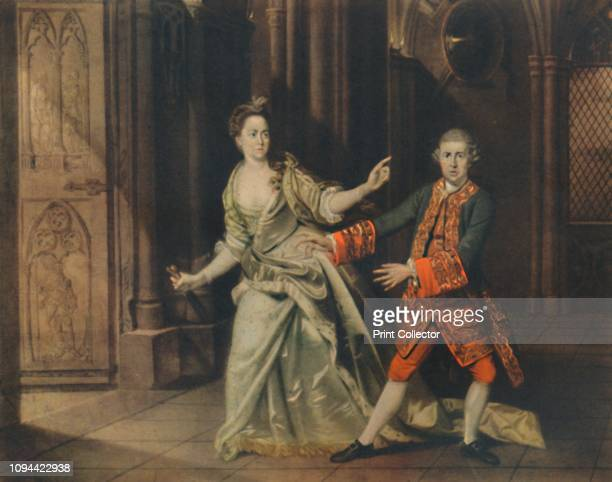 David Garrick and Mrs Pritchard as Macbeth and Lady Macbeth' David Garrick and Mrs Hannah Pritchard From 'The British Theatre' by Bernard Miles...