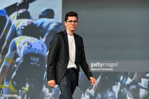 David GAUDU during the presentation of the Tour de France 2022 at Palais des Congres on October 14, 2021 in Paris, France.