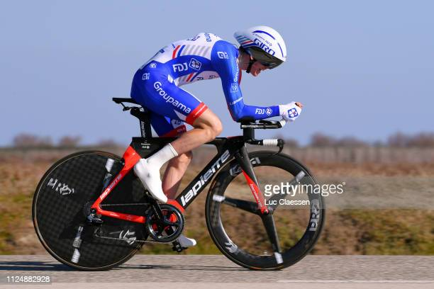 David Gaudu of France and Team Groupama FDJ / during the 4th Tour de La Provence 2019 Stage 1 a 89km Individual Time Trial stage from Les Arenes to...
