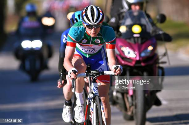 David Gaudu of France and Team Groupama FDJ Green Best Young Jersey / during the 4th Tour de La Provence 2019 Stage 4 a 1733km race from Avignon to...