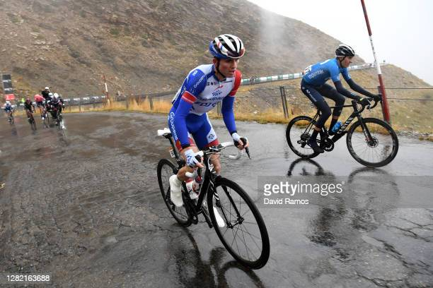 David Gaudu of France and Team Groupama - FDJ / Marc Soler Gimenez of Spain and Movistar Team / during the 75th Tour of Spain 2020 - Stage 6 a...