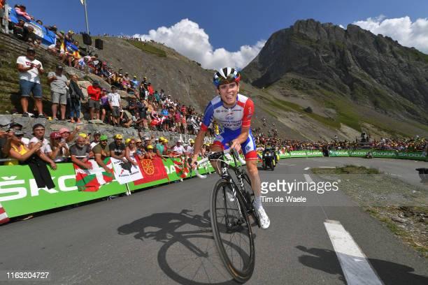 David Gaudu of France and Team Groupama-FDJ / Col de Tourmalet / Fans / Public / Mountains / during the 106th Tour de France 2019, Stage 14 a 117km...