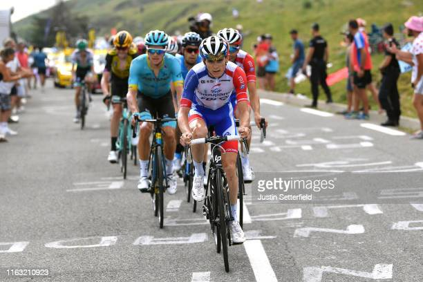 David Gaudu of France and Team Groupama-FDJ / during the 106th Tour de France 2019, Stage 14 a 117km stage from Tarbes to Tourmalet Barèges 2115m -...