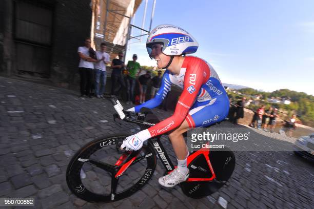 David Gaudu of France and Team GroupamaFDJ / during the 72nd Tour de Romandie 2018 Prologue a 4km individual time trial stage from Fribourg to...