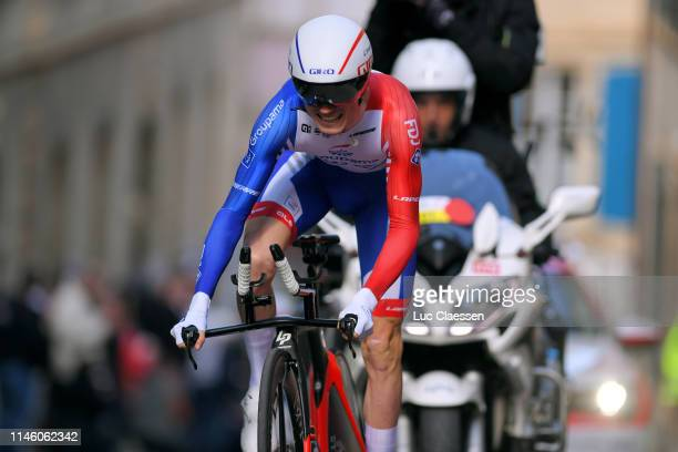 David Gaudu of France and Team GroupamaFDJ / during the 73rd Tour de Romandie 2019 Prologue a 387km Individual Time Trial from Neuchâtel to Neuchâtel...
