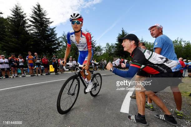 David Gaudu of France and Team Groupama-FDJ / Planche des Belles Filles / Public / Fans / during the 106th Tour de France 2019, Stage 6 a 160,5km...
