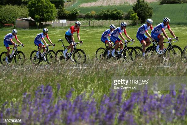 David Gaudu of France, Bruno Armirail of France, William Bonnet of France, Kevin Geniets of Luxembourg, Matthieu Ladagnous of France, Olivier Le Gac...
