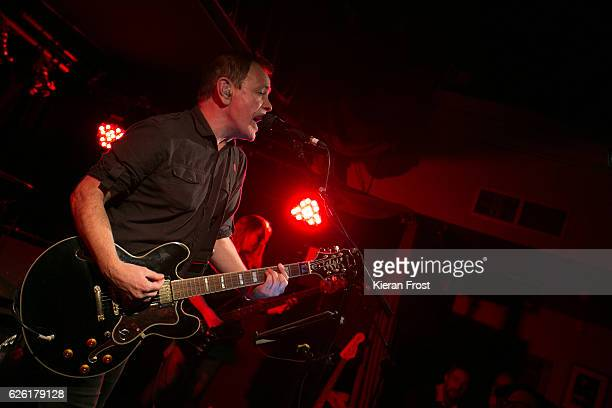 David Gedge of The Wedding Present performs at Whelan's on November 27 2016 in Dublin