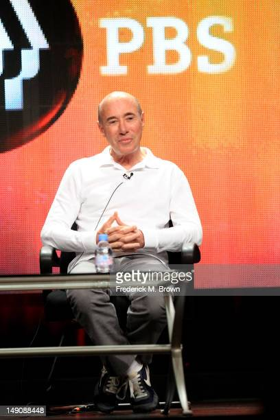 David Geffen record executive producer and philanthropis speaks onstage at the American Masters Inventing David Geffen panel during day 2 of the PBS...