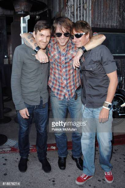 David George Band attends THE 3RD ANNUAL SUNSET STRIP MUSIC FESTIVAL LAUNCHES WITH A TRIBUTE TO SLASH at House Of Blues on August 26 2010 in West...
