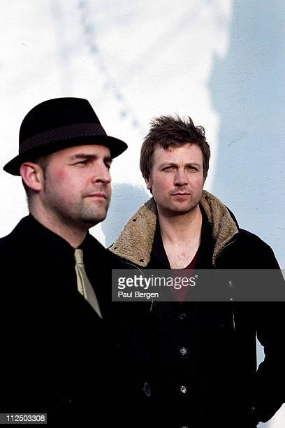 David Geraghty and Paul Noonan of the band Bell X1 pose for portraits on March 16, 2011 in Amsterdam, Netherlands.