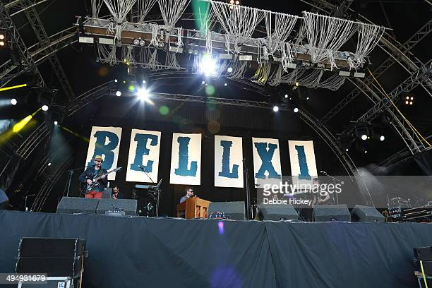 David Geraghty, Paul Noonan and Rory Doyle and Dominic Philips of Bell X1 performs at day 1 of the Forbidden Fruit festival at Royal Hospital...