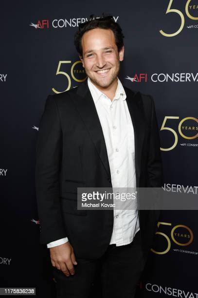 David Gerson attends AFI Conservatory's 50th Anniversary Celebration at Greystone Mansion on September 19 2019 in Beverly Hills California