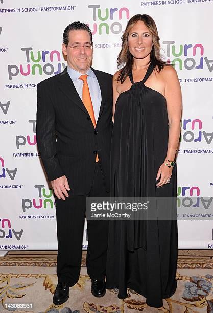 David Gerstenhaber and Dr Kelly Posner Gerstenhaber cochair of Turnaround fo Children attend the Turnaround for Children's 3rd annual Impact Awards...
