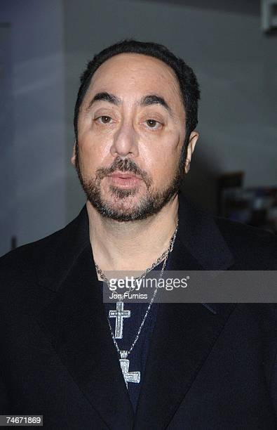 David Gest at the Hayward Gallery in London United Kingdom