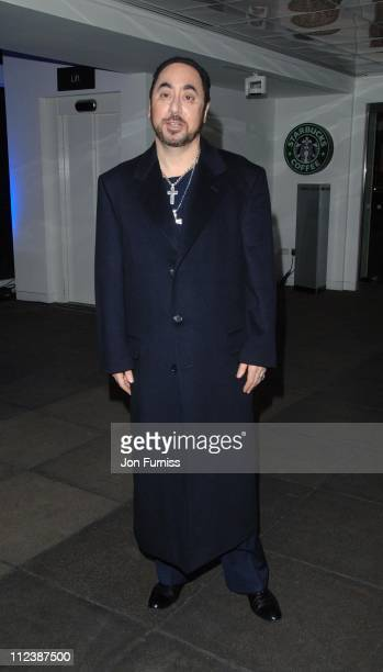 David Gest during Dreamgirls UK Film Premiere After Party at Hayward Gallery in London United Kingdom