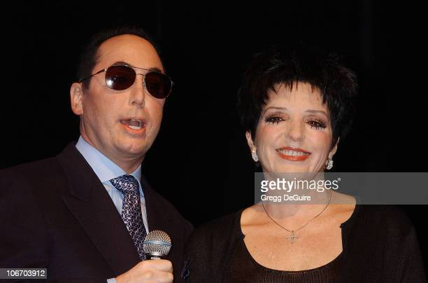 David Gest Liza Minnelli during Liza Minnelli David Gest Announce Their New VH1 Musical Reality Series Liza David at House of Blues in West Hollywood...