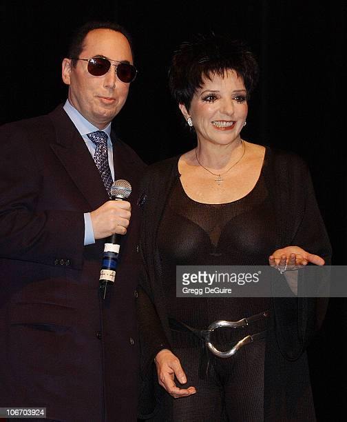 David Gest Liza Minnelli during Liza Minnelli David Gest Announce Their New VH1 Musical Reality Series 'Liza David' at House of Blues in West...