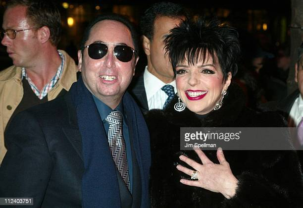 David Gest Liza Minnelli during Liza Minnelli InStore At Tower Records New York Promoting Her New CD 'Liza's Back' at Tower Records in New York New...