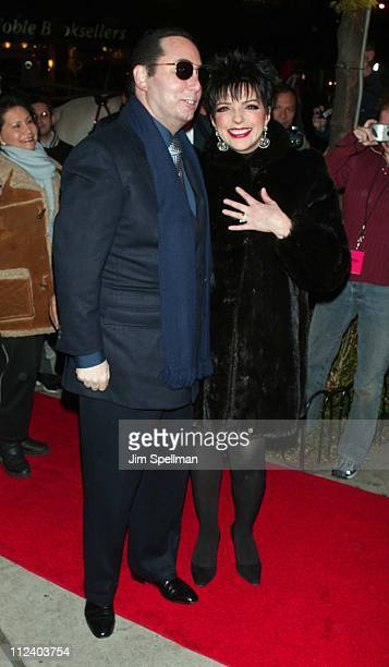 David Gest Liza Minnelli during Liza Minnelli InStore At Tower Records New York Promoting Her New CD Liza's Back at Tower Records in New York New...