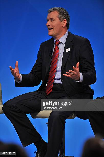 David Gill of Manchester United during the England 2018 2022 World Cup Bid at Wembley Stadium on May 18 2009 in London England