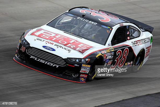 David Gilliland, driver of the The Pete Store Ford, practices for the NASCAR Sprint Cup Series FedEx 400 Benefiting Autism Speaks at Dover...