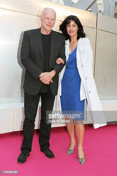 David Gilmour and Polly Samson arrive at the Royal Academy of Arts Summer Exhibition Preview Party at Royal Academy of Arts on May 30 2012 in London...