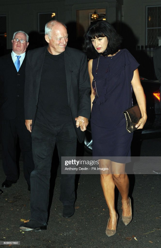 David Gilmour And Wife Polly Samson At The North London Home Of Sir Paul McCartney