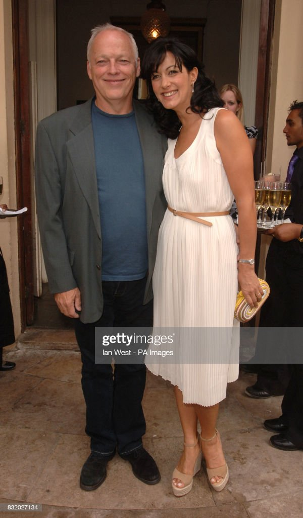 David Gilmour And Wife Polly Samson At The Tatler Summer Party Home House
