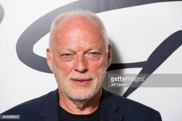 David Gilmour arrives for the David Gilmour 'Live At Pompeii' premiere screening at Vue West End on September 5 2017 in London England