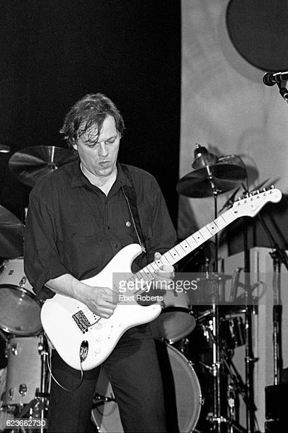David Gilmour of Pink Floyd performing at the Beacon Theater on May 22 1984