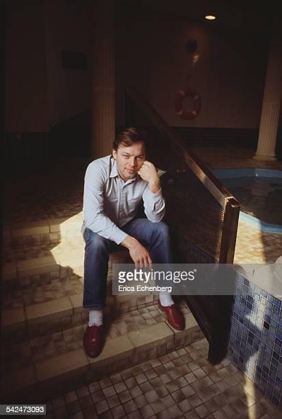 David Gilmour of Pink Floyd portrait United Kingdom 1984