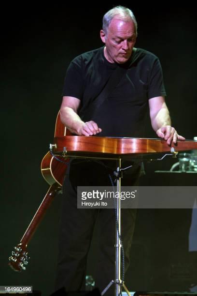 David Gilmour performing at Radio City Music Hall on Tuesday night April 4 2006
