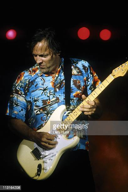 David Gilmour performs at Cal Expo in California on June 28 1984