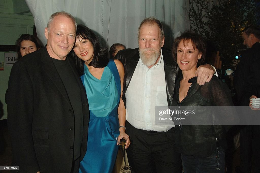 David Gilmour Polly Samson Tony Smith And His Wife Attend Musician Gilmours 60th