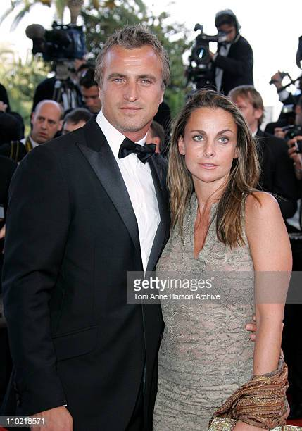 David Ginola and Coraline during 2005 Cannes Film Festival Star Wars Episode III Revenge of the Sith Premiere in Cannes France
