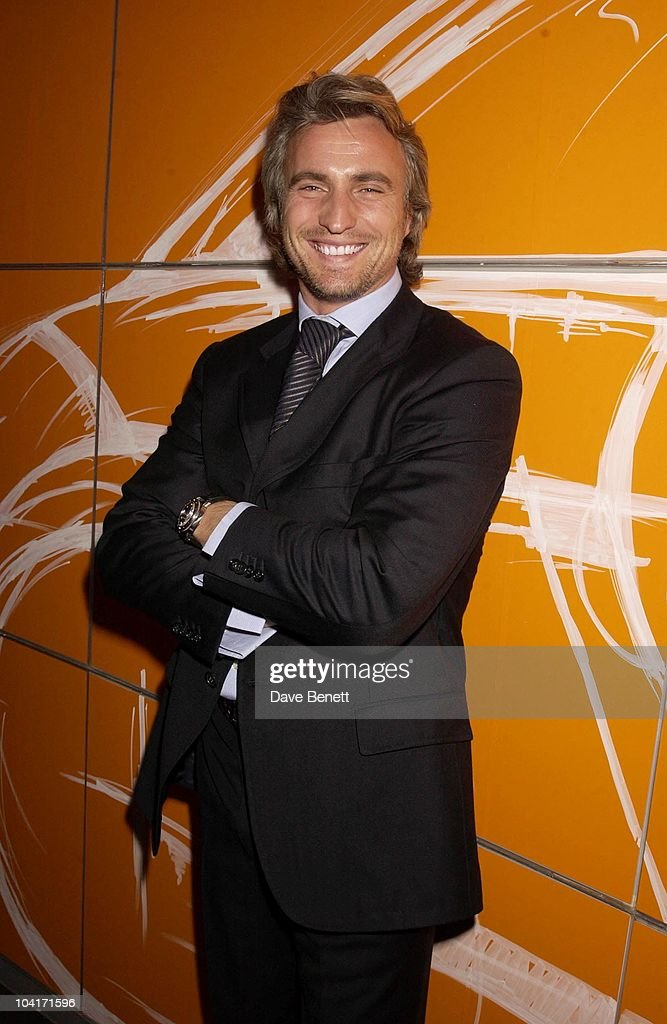 David Ginola, Designs Of The Times Auction Launch Party, At The Audi Forum, On Behalf Of The Norwood And Demelza House