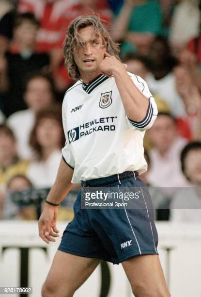 David Ginola of Tottenham Hotspur in action circa 1998