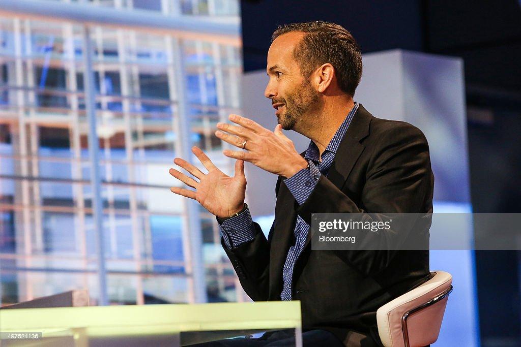 Upstart Co-Founder And Chief Executive Officer David Girouard Interview : ニュース写真