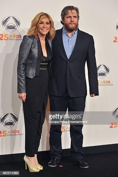 David Gistau attends 'Antena 3' 25th Anniversary Reception at the Palacio de Cibeles on January 29, 2015 in Madrid, Spain.