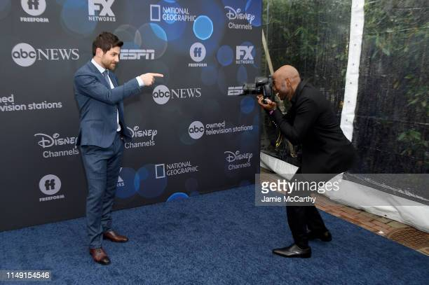 David Giuntoli and Romany Malco attend the ABC Walt Disney Television Upfront on May 14 2019 in New York City
